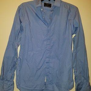 Rag & Bone Blue Long Sleeve Button up Size Medium